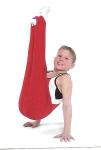 Drew as gymnast with Swiss Turners