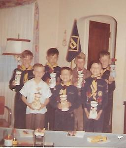 Evergreen Park Cub Scout Pack 3644, Den 6. I am on the right, front row.
