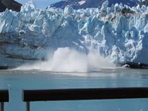 Marjorie Glacier calving- Glacier Bay National Park, Alaska